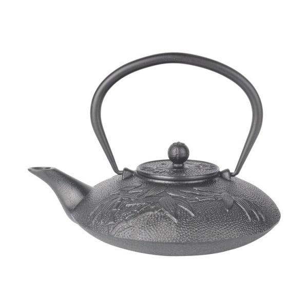 Czarny dzbanek na herbatę z żelaza Bambum Mate, 720 ml