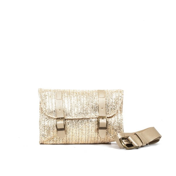 Dámská taška ve zlaté barvě Nina Beratti Clovis Or