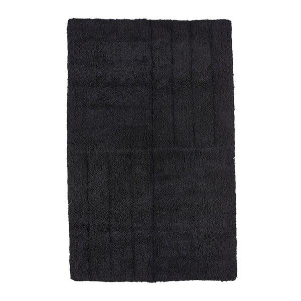Černá koupelnová předložka Zone Classic, 50x80cm