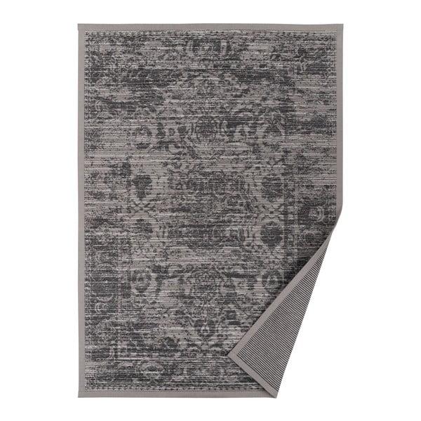 Šedobéžový vzorovaný oboustranný koberec Narma Palmse, 160x230cm
