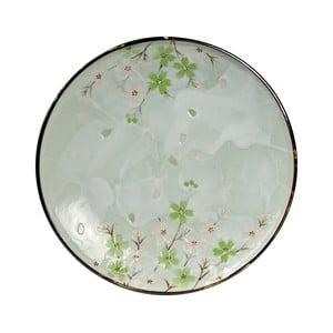 Porcelánový talíř Tokyo Design Studio Green Cosmos,ø19,5cm