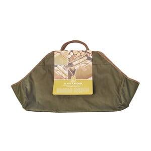 Taška na krbové dřevo Olive Green