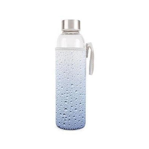 Drops üvegpalack neoprén tartóban, 600 ml - Kikkerland