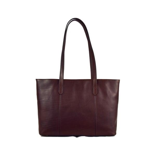 Kožená taška Santo Croce M6803 Dark Brown