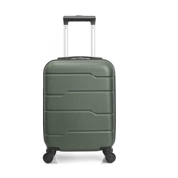 Zelený cestovný kufor na kolieskach Hero Santiago, 30l