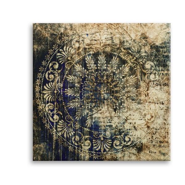 Obraz Styler Canvas Silver Uno Zambino, 65 x 65 cm