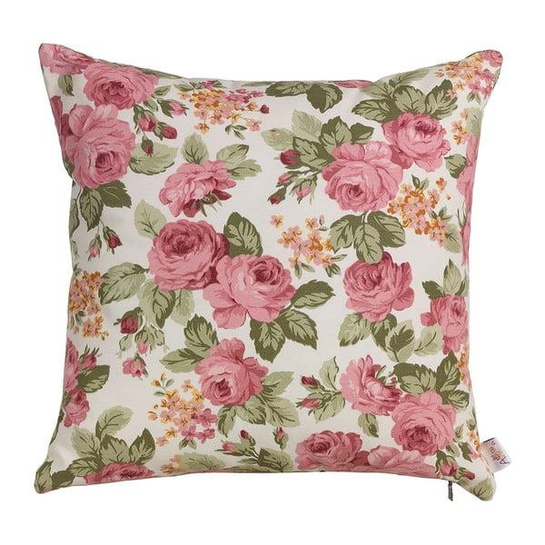 Polštář s náplní Flowers in Pink