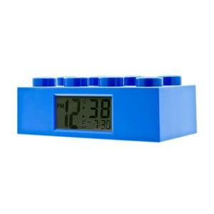 Modré hodiny s budíkem LEGO® Brick