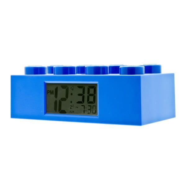 Ceas deșteptător LEGO® Brick, albastru