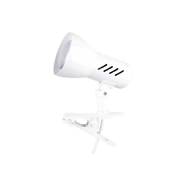 Stolní lampa na klips Cspots White