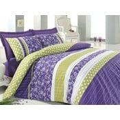Felicita Purple, 160 x 220 cm, s prostěradlem