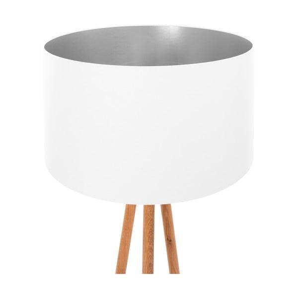 Stojací lampa White Silver