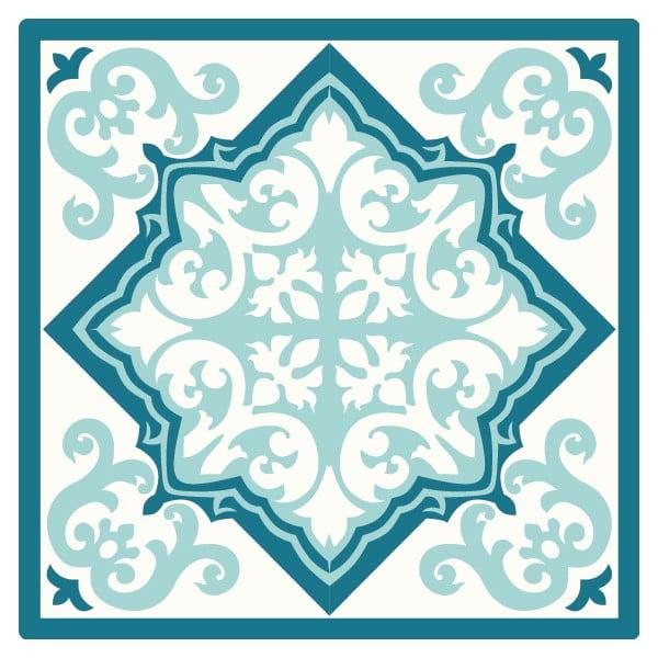 Set 2 prostírání Feeling Blue, 20x20 cm