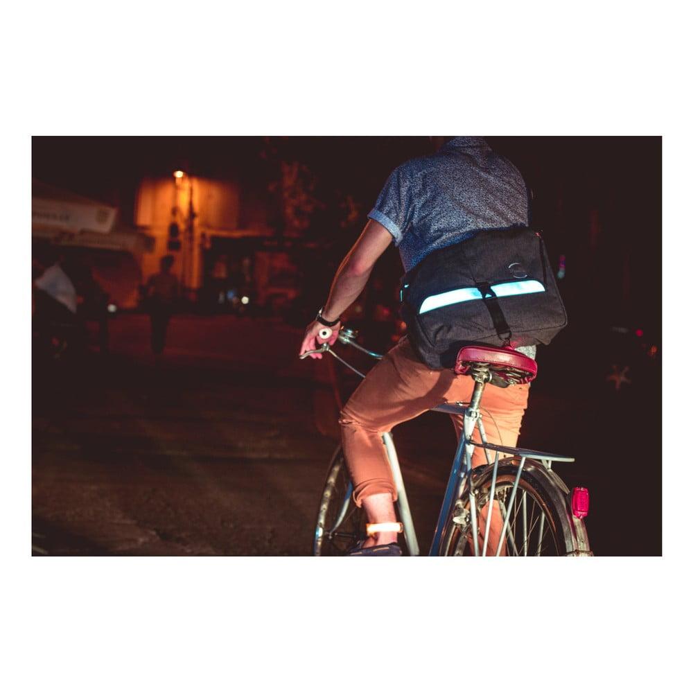 c344b959522 Reflexní cyklistická taška přes rameno MoonRide Go City ...