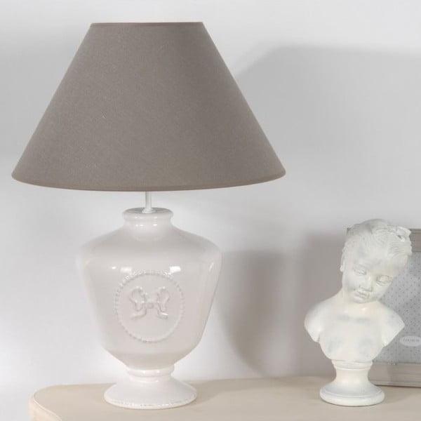 Stolní lampa Emilie White