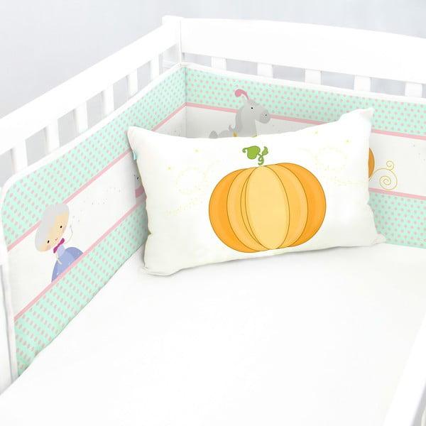 Výstelka do postýlky Pumpkin, 70x70x70 cm