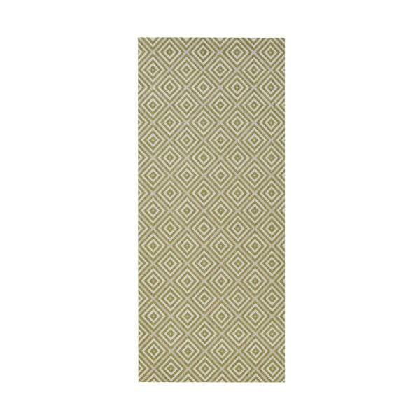Karo zöld kültéri szőnyeg, 80 x 150 cm - Bougari