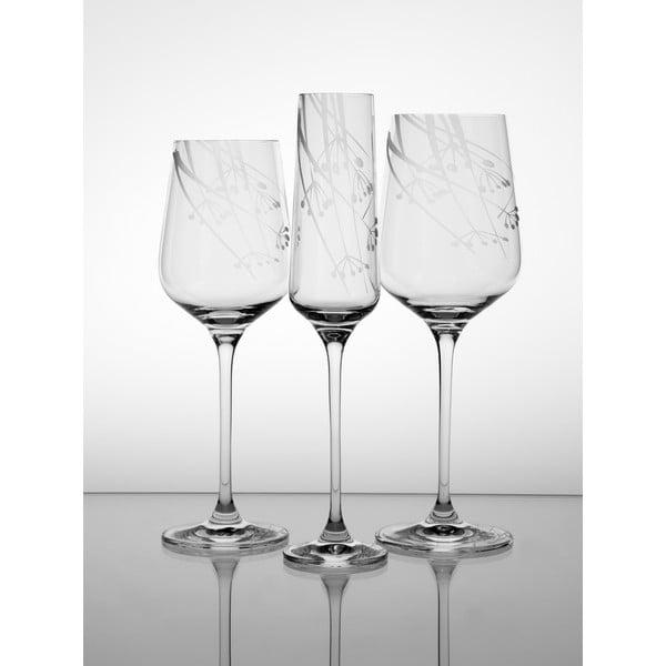 Ateliér Žampach, set 2 ks skleniček na červené víno Kmín