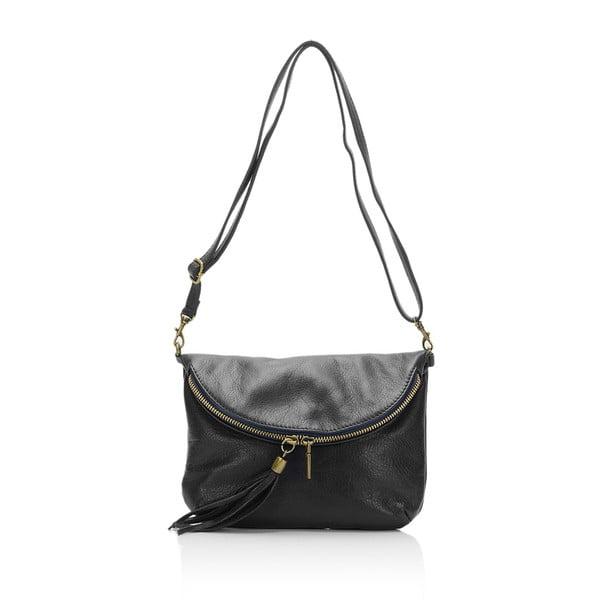 Fekete, bőrkistáska - Grey Labelz Lisa Minardi Vetro