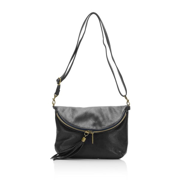 Czarna torebka skórzana Grey Labelz Lisa Minardi Vetro