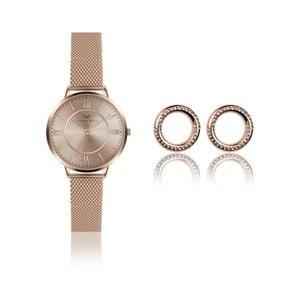 Sada dámských hodinek anáušnic Victoria Walls Layla