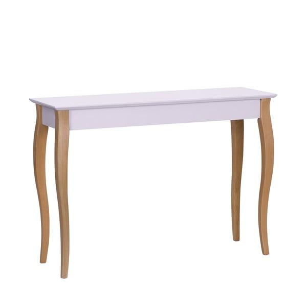 Console rózsaszín kisasztal, 105 cm hosszú - Ragaba