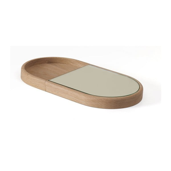 Felhajtható kozmetikai tükör tölgyfából - HARTÔ