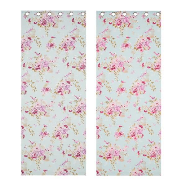 Závěs Birdcage Blossom, 168x183 cm