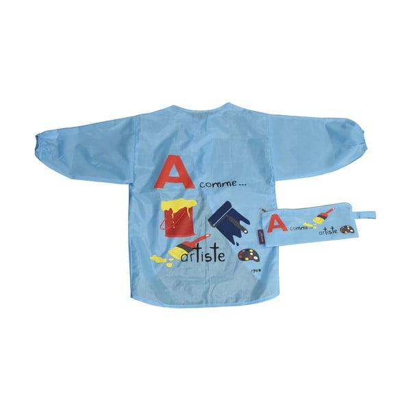 Modrá zástěrka pro děti na malování Incidence ABC