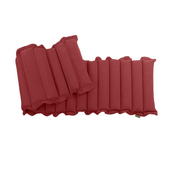 Červená relaxační masážní matrace Linda Vrňáková Waves, 60x200cm