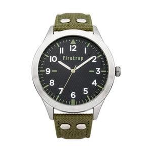 Pánské hodinky Firetrap Gents Green Strap/GreenDial, 45 mm