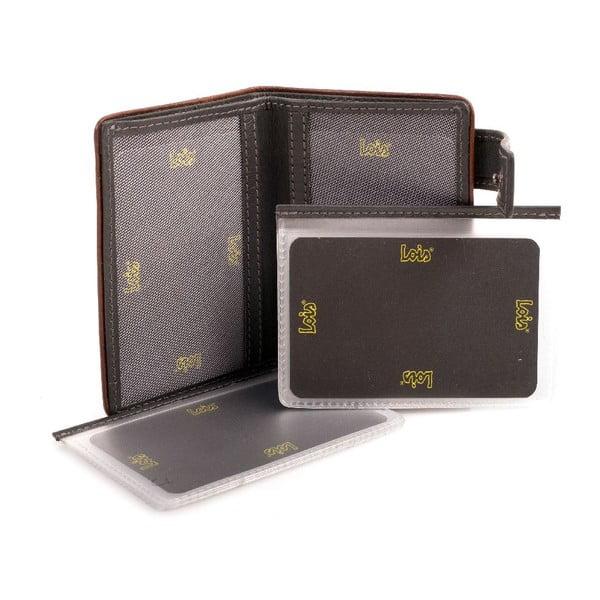 Kožená peněženka Lois Jeans Old, 7x10 cm