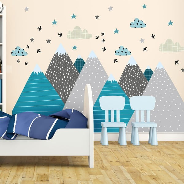 Giant Kid Sticker Scandinavian Mountains Janeka falmatrica - Ambiance