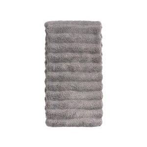 Šedý bavlněný ručník Zone Prime, 50 x 100 cm