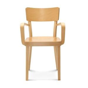 Scaun de lemn Fameg Lone, culoare deschisă