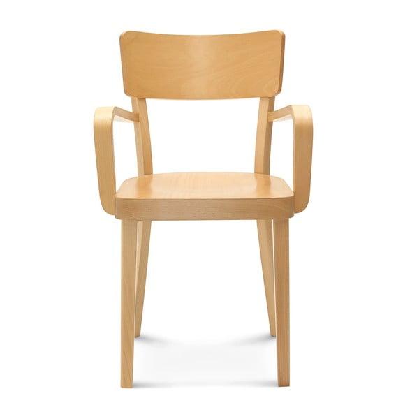 Světlá dřevěná židle Fameg Lone