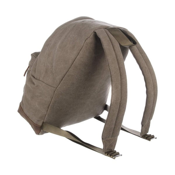 Batoh Waterloo Brown Canvas Backpack