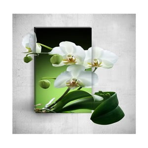 Nástěnný 3D obraz Mosticx Pure Elegant Flower, 40 x 60 cm
