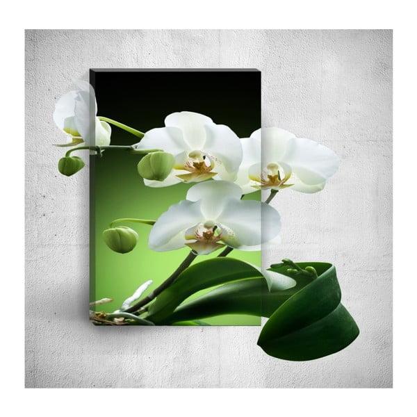 Pure Elegant Flower 3D fali kép, 40 x 60 cm - Mosticx