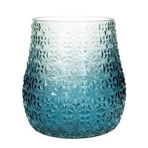 Modro-bílá váza HF Living, 23 cm