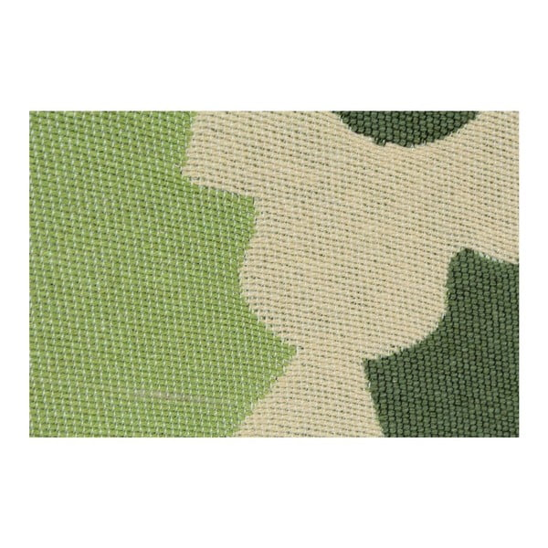 Zelený koberec Floorist Baklava Green, 80x150cm