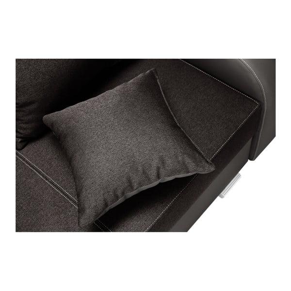 Canapea cu 3 locuri INTERIEUR DE FAMILLE PARIS Destin, maro