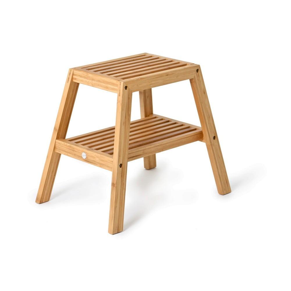Produktové foto Bambusová stolička Wireworks Slatted Stool