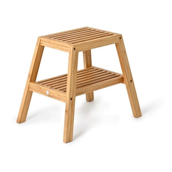 Scaun din lemn de bambus Wireworks Slatted Stool