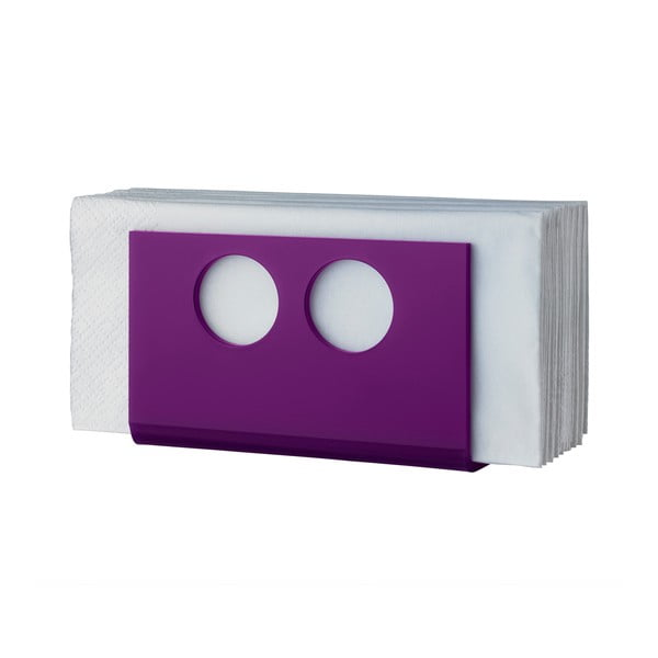Stojan na ubrousky U Purple