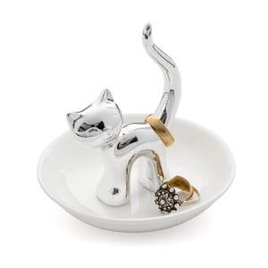 Stojánek na prstýnky Kočka