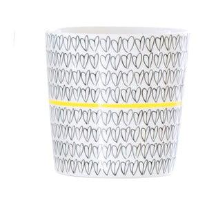 Hrnek Heart Mug Yellow