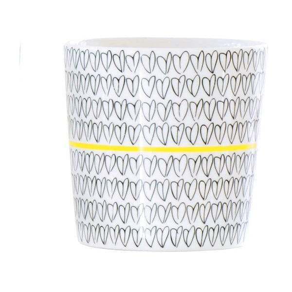 Hrnek Heart Mug Yellow