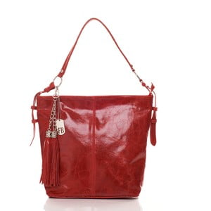 Kožená kabelka Hobo Red