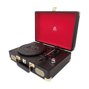 Černý gramofon GPO Soho Black